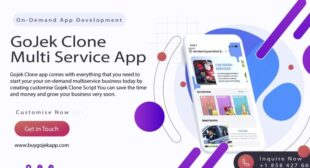Gojek Clone – 70+ On-Demand Multi-services with Latest Features September 2021