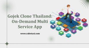 Gojek Clone Thailand On Demand Multi Service App