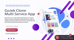 BECOME A SUCCESSFUL ENTREPRENEUR WITH STARTING A BUSINESS WITH GOJEK CLONE APP