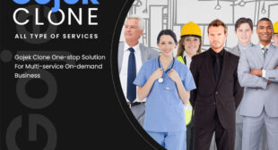 Gojek Clone One-stop Solution For Multi-service On-demand Business