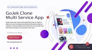 Gojek Clone – Build A Successful Empire Using Super App To Run On-Demand Business