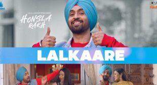 Lalkaare Lyrics – Diljit Dosanjh